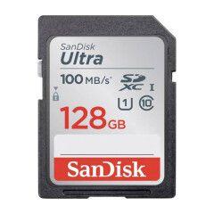 SanDisk SDXC Ultra 128GB 100MB/s CL10