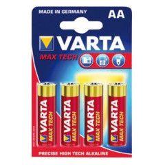 Varta 1500 PX Maxi Tech NR4706 AA 4-Pak batterijen