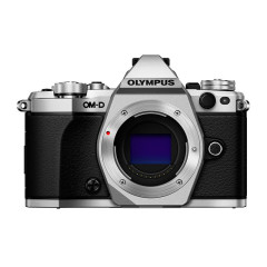 Olympus E-M5 Mark II Body Zilver