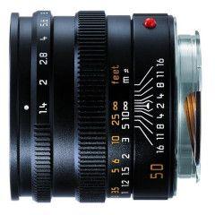 Leica Summilux-M 50mm f/1.4 Asph - Zwart