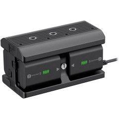 Sony NPA-MQZ1K Multi-accu-adapter voor A9