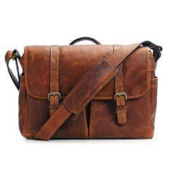 ONA The Brixton Bag Leather Cognac