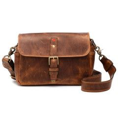 ONA The Bowery Bag Leather Cognac voor Leica
