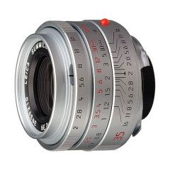 Leica Summicron-M 35mm f/2.0 Asph - Zilver