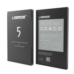 GGS V Larmor 5th Gen Screen Protector en Sunshade Hood voor Nikon D7100/7200