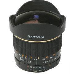 Samyang 8mm f/2.8 Fisheye Fuji X - Zwart