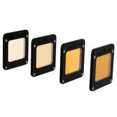 Lume Cube CTO Gel Pack voor Light-House - 4 stuks