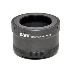 Kiwi Photo Lens Mount Adapter T-Mount naar Canon M