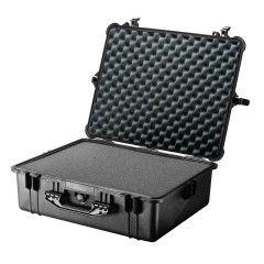 Peli Case 1450 Black 37,1x25,9x15,2cm (plukschuim interieur)