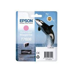 Epson T7606 Inktcartridge Foto high capacity 25,9ml - Vivid Licht Magenta