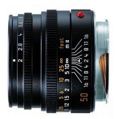 Leica Summicron-M 50mm f/2.0 - Zwart