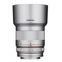 Samyang 50mm f/1.2 AS UMC CS Sony E Zilver