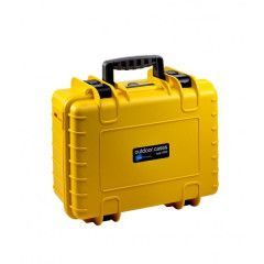 B&W Outdoor Cases Type 4000 - Geel met Plukschuim