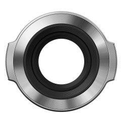 Olympus LC-37C automatische lens dop voor EZ-M1442EZ - zilver