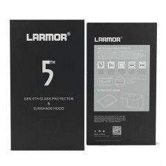 GGS V Larmor 5th Gen Screen Protector en Sunshade Hood voor Canon 5D Mark IV