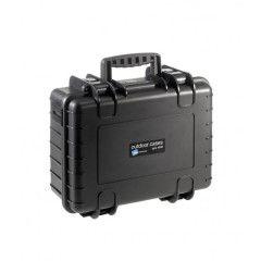 B&W Outdoor Cases Type 4000 - Zwart met Vakverdeler