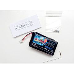 CAME-TV replacement battery CAME-TV single 1 (LIPO 1000MAH 11.1v)
