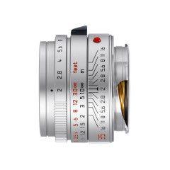 Leica Summicron-M 35mm f/2.0 Asph (2016) - Zilver