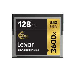 Lexar CFAST Pro 128GB 3600x speed CF kaart