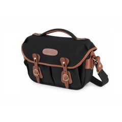 Billingham Hadley Small Pro - Black/Tan Canvas