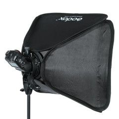 Godox S-type Bracket + Softbox 80x80cm