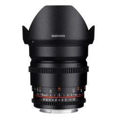 Samyang 16mm T2.2 ED AS UMC CS II VDSLR Pentax