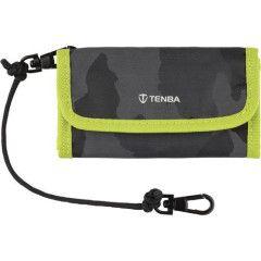 Tenba Reload SD 6 Card Wallet - Camo/Lime