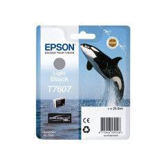 Epson T7607 Inktcartridge Foto high capacity 25,9ml - Licht Zwart