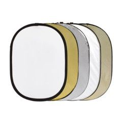 Delamax 5-in-1 reflectiescherm 107 x 168 cm