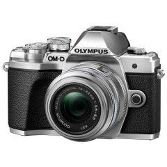 Olympus OM-D E-M10 Mark III Zilver + 14-42mm EZ