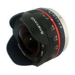 Samyang 7.5mm T3.8 Cine UMC VDSLR Micro 4/3 - Zwart