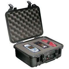 Peli Case 1400 Black 30,0x22,5x13,2cm (plukschuim interieur)