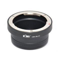 Kiwi Lens Mount Adapter (Olympus OM naar Nikon 1)