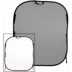 Lastolite Plain collapsible 180x215cm white/mid grey