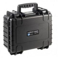 B&W Outdoor Cases Type 3000 - Zwart Leeg