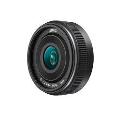 Panasonic Lumix G 14mm f/2.5 ASPH II - Zwart