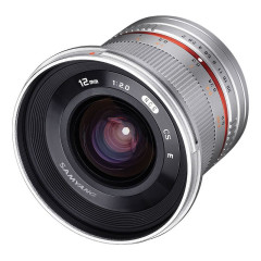 Samyang 12mm f/2.0 NCS CS Canon M - Zilver