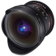 Samyang 12mm T3.1 Fisheye VDSLR Nikon