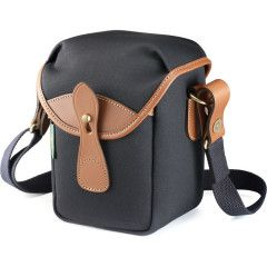Billingham 72 Camera Pouch - Black/Tan