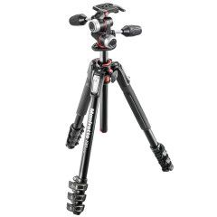 Manfrotto MK190XPRO3-3W Alu Kit Incl. MH-XPRO3W