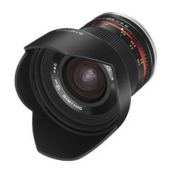 Samyang 12mm f/2.0 NCS CS Samsung NX - Zwart