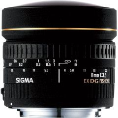 Sigma 8mm f/3.5 EX DG Circ. Fisheye Nikon D