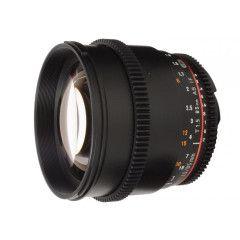 Samyang 85mm T1.5 VDSLR II Canon EF