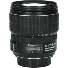 Tweedehands Canon EF-S 15-85mm f/3.5-5.6 IS USM CM9845