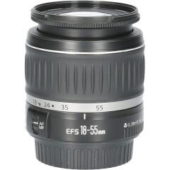 Tweedehands Canon EF-S 18-55mm f/3.5-5.6 DC II CM2540