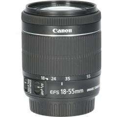 Tweedehands Canon EF-S 18-55mm f/3.5-5.6 IS STM CM4924