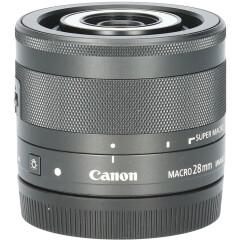 Tweedehands Canon EF-M 28mm f/3.5 Macro IS STM CM4112