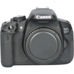 Tweedehands Canon EOS 650D Body CM5087