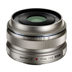 Olympus M.Zuiko Digital ED 17mm f/1.8 - Zilver