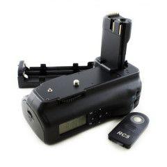 Delamax LCD batterijgrip voor Canon 30D 40D 50D (BG-E2)